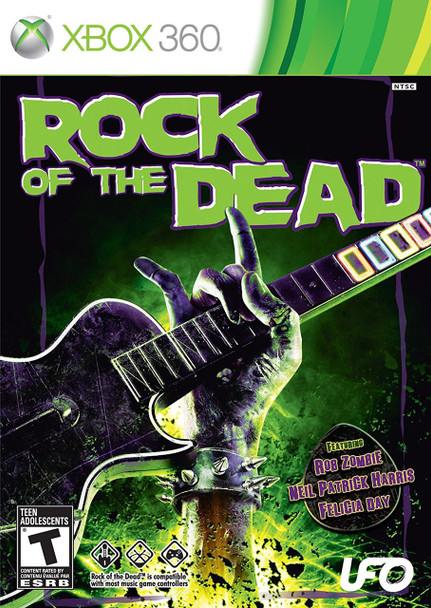 ROCK OF THE DEAD  - XBOX 360