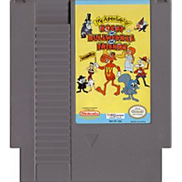 ROCKY AND BULLWINKLE AND FRIENDS  - NES