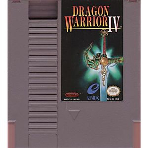 DRAGON WARRIOR IV - NES