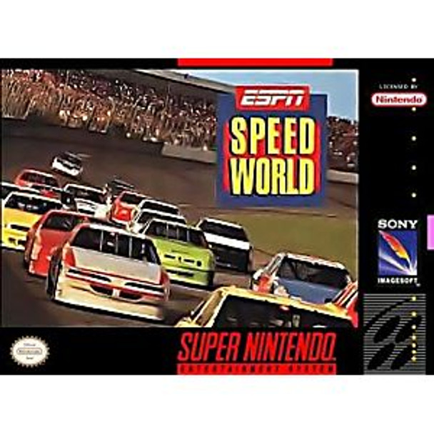 ESPN SPEED WORLD  - SNES