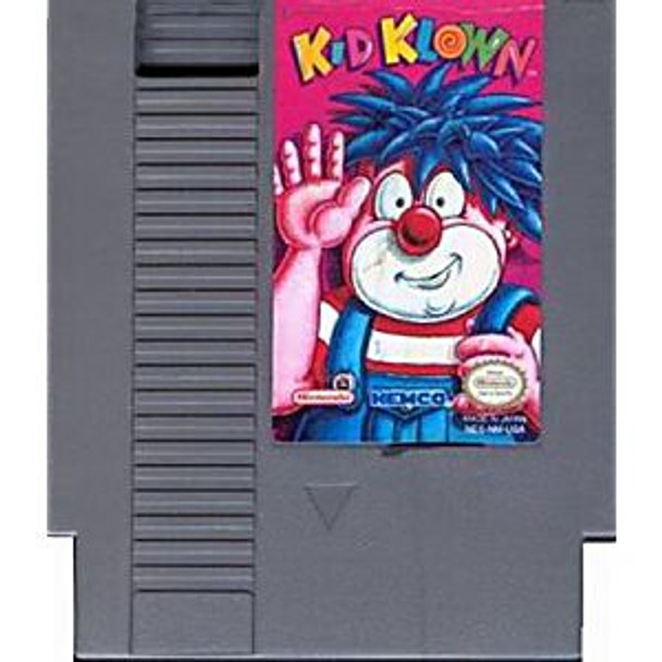 KID KLOWN IN NIGHT MAYOR WORLD - NES