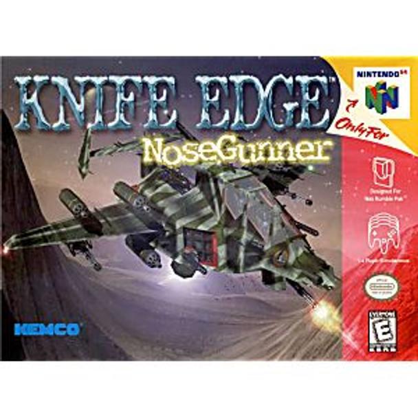 KNIFE EDGE NOSE GUNNER - N64