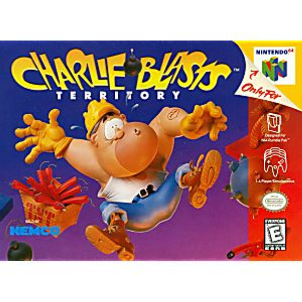 CHARLIE BLASTS TERRITORY - N64