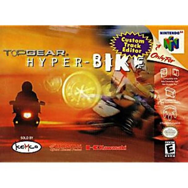 TOP GEAR HYPERBIKE - N64