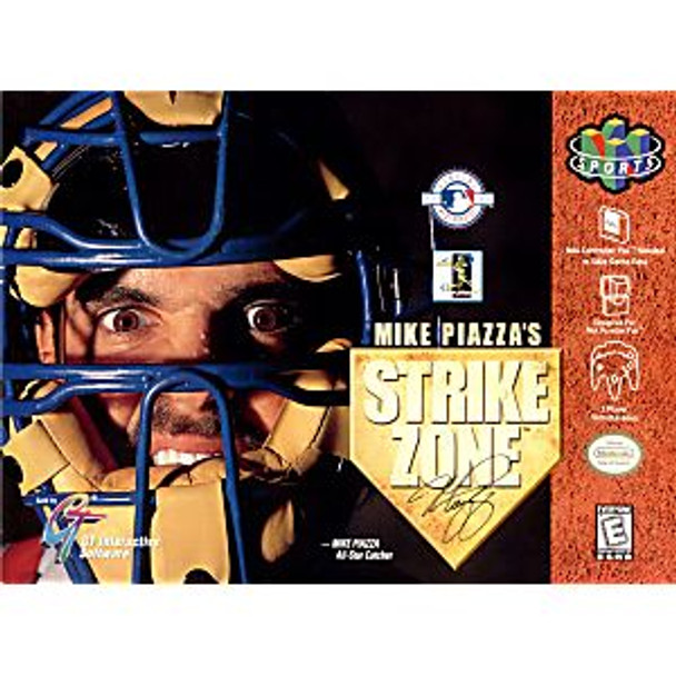 MIKE PIAZZAS STRIKE ZONE - N64