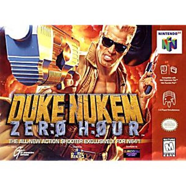 DUKE NUKEM ZERO HOUR - N64