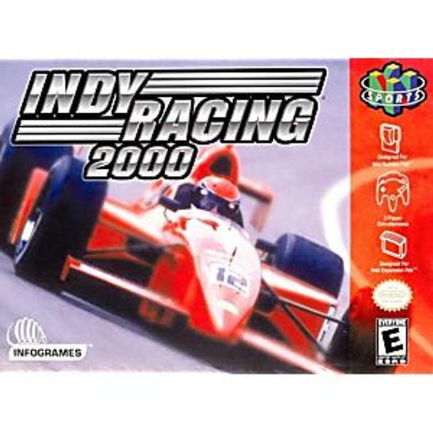 INDY RACING 2000 - N64