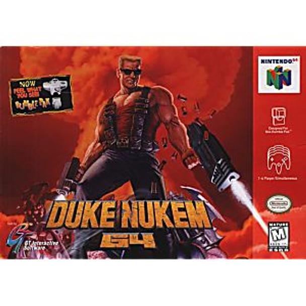 DUKE NUKEM  - N64