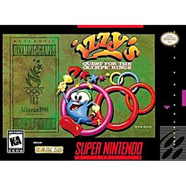 IZZY'S QUEST FOR THE OLYMPIC RINGS  - SNES