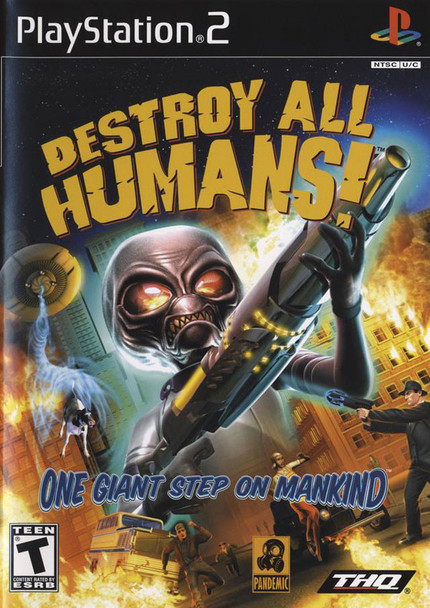 DESTROY ALL HUMANS [T] - PS2