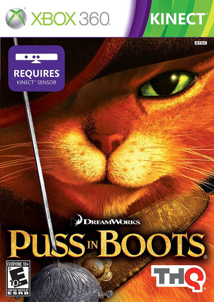 PUSS IN BOOTS  - XBOX 360