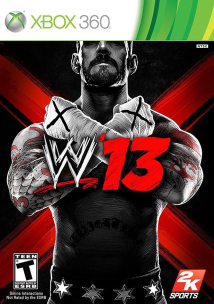 WWE '13  - XBOX 360