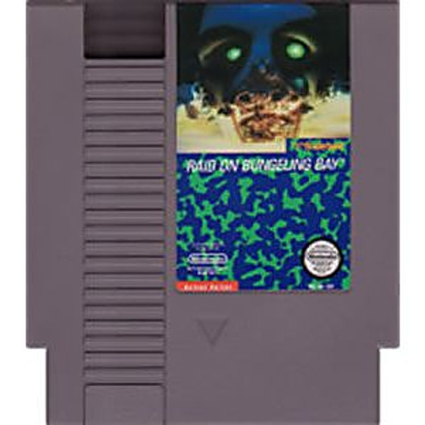 RAID ON BUNGELING BAY - NES
