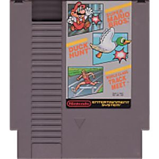 SUPER MARIO BROS/TRACK/DUCK H - NES