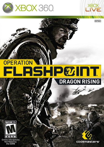 OPERATION FLASHPOINT: DRAGON RISING  - XBOX 360