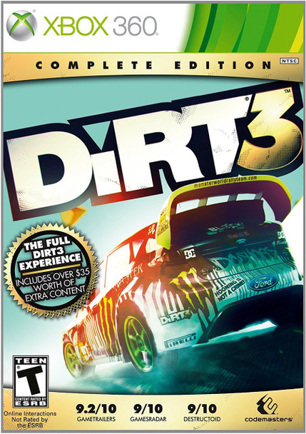 DIRT 3: COMPLETE EDITION  - XBOX 360