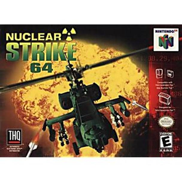NUCLEAR STRIKE 64 - N64