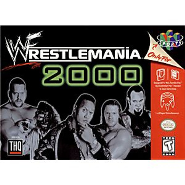 9. WWF WRESTLEMANIA 2000 - N64