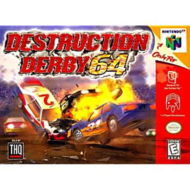 DESTRUCTION DERBY  - N64