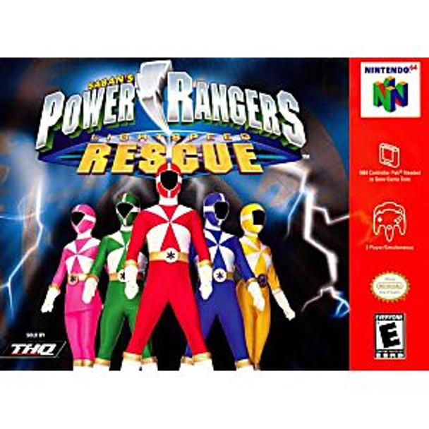 POWER RANGERS LIGHTSPEED RESCUE  - N64
