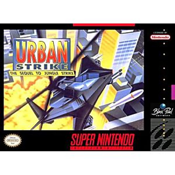 URBAN STRIKE  - SNES
