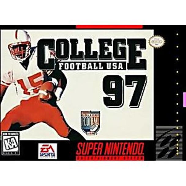 COLLEGE FOOTBALL 97 - SNES
