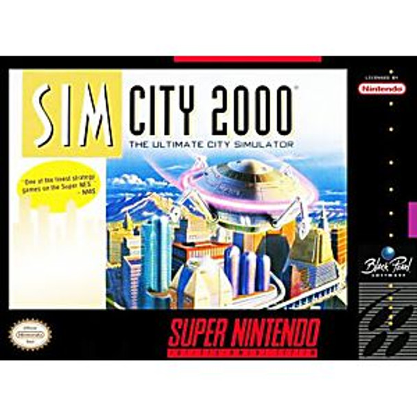 SIMCITY 2000  - SNES