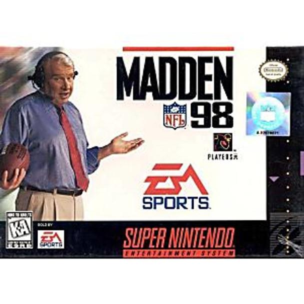 MADDEN NFL 98 - SNES