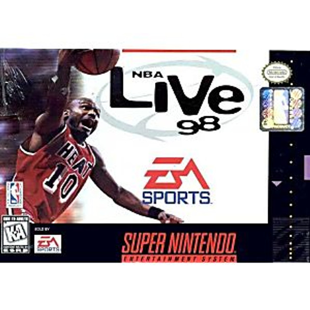 NBA LIVE 98  - SNES
