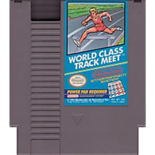 WORLD CLASS TRACK MEET - NES