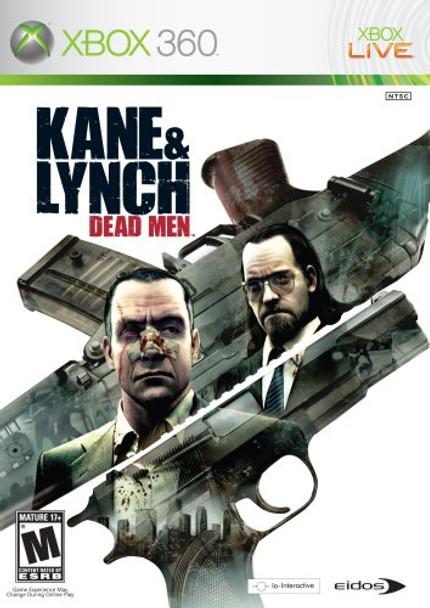 KANE AND LYNCH DEAD MEN  - XBOX 360