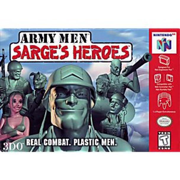 ARMY MEN SARGES HEROES - N64