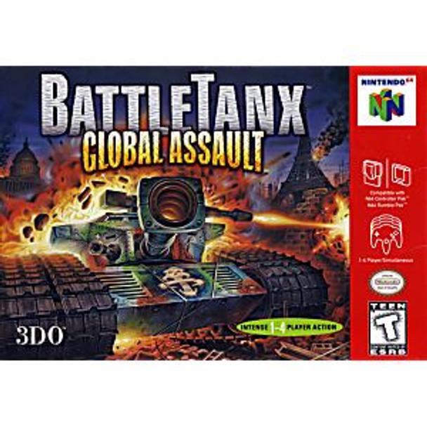 BATTLETANX 2 GLOBAL ASSAULT - N64