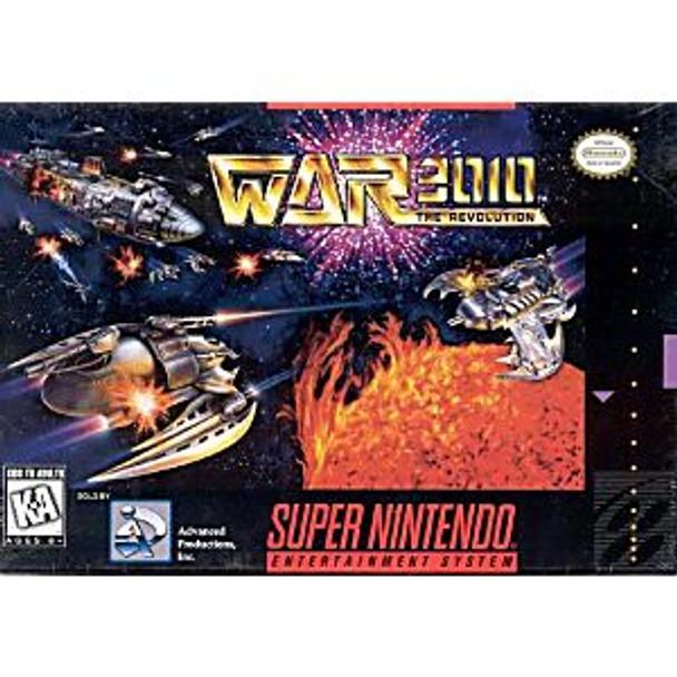 WAR 3010 THE REVOLUTION - SNES