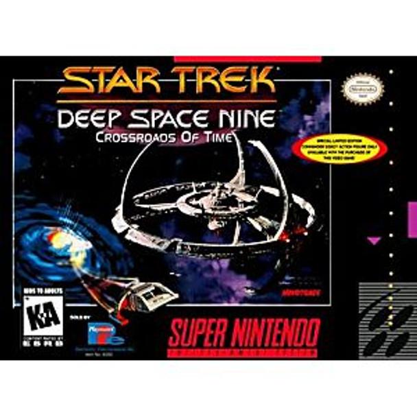 STAR TREK DEEP SPACE NINE CROSSROADS OF TIME - SNES