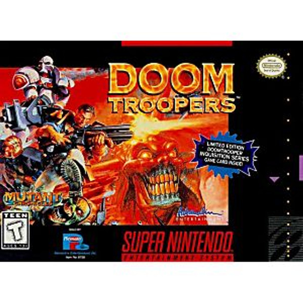 DOOM TROOPERS  - SNES
