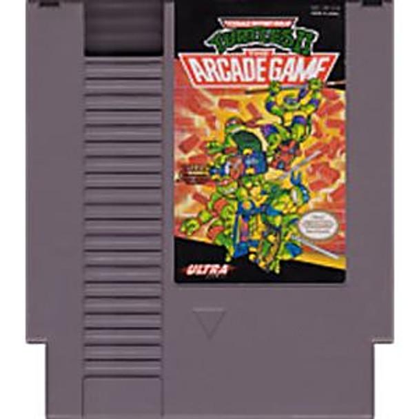 TMNT II THE ARCADE GAME - NES