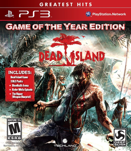 DEAD ISLAND GAME OF THE YEAR - PS3