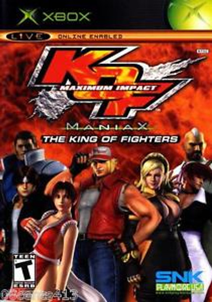 KING OF FIGHTERS MAXIMUM IMPACT MANIAX - XBOX