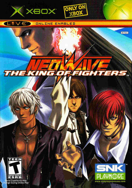 KING OF FIGHTERS NEOWAVE  - XBOX