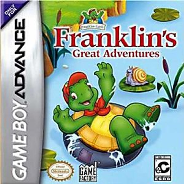FRANKLIN'S GREAT ADVENTURES - GBA
