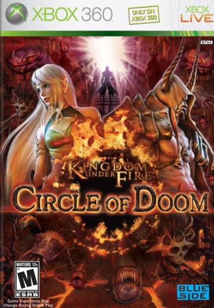 KINGDOM UNDER FIRE CIRCLE OF DOOM  - XBOX 360