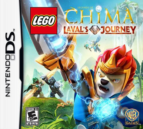 LEGO LEGENDS OF CHIMA: LAVAL'S JOURNEY - NDS