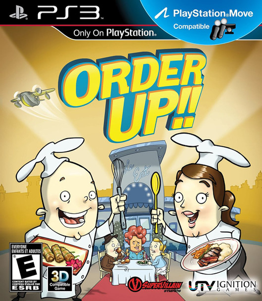 ORDER UP  - PS3