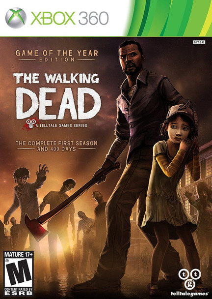 WALKING DEAD: GAME OF THE YEAR   - XBOX 360