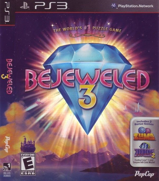BEJEWELED 3 - PS3