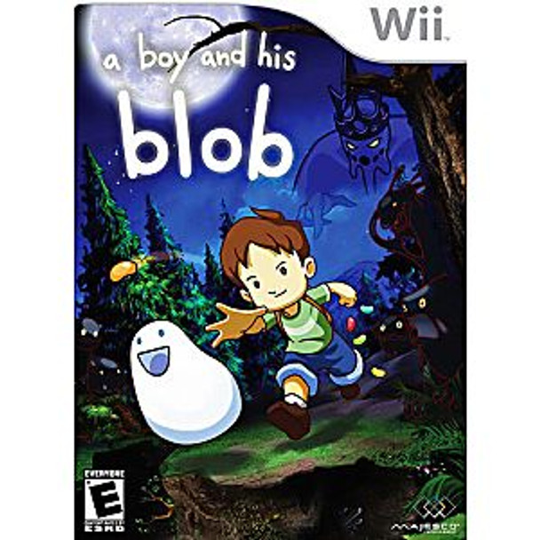 A BOY AND HIS BLOB - WII - 96427016120