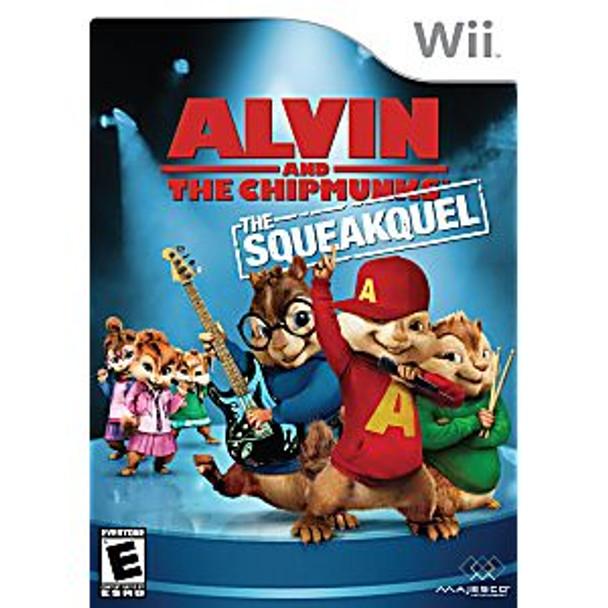 ALVIN   CHIPMUNKS: CHIPWRECKED - WII - 96427017516
