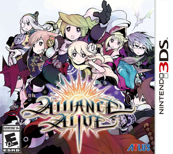 ALLIANCE ALIVE - 3DS