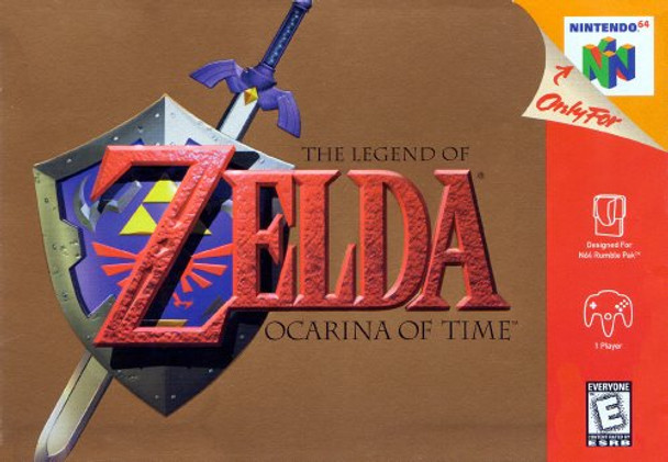1. ZELDA OCARINA OF TIME - N64